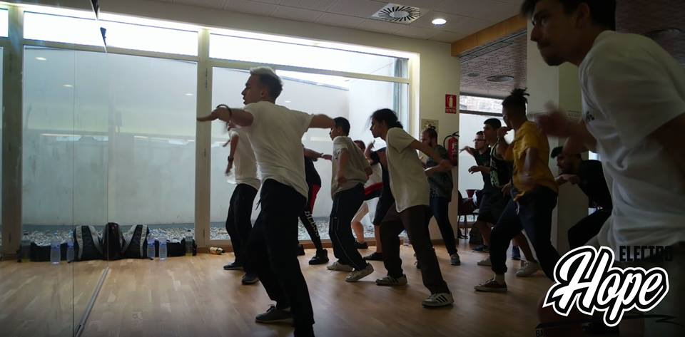 Workshops with Singa in Barcelona last year