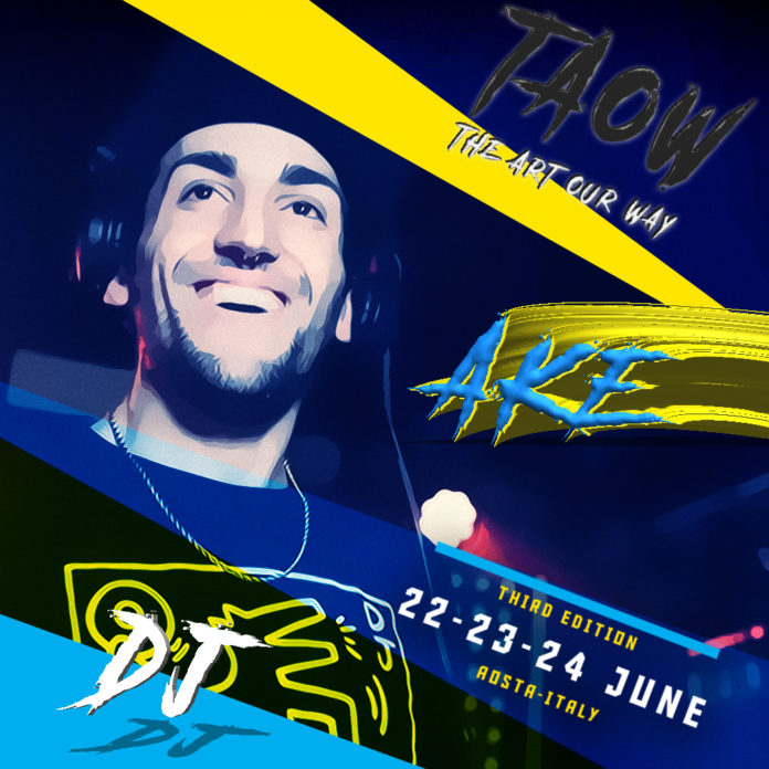 Ake, the Allstyle Dj at The Art Our Way 2018