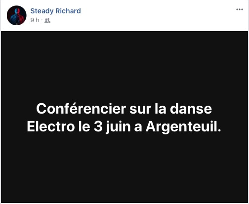 Conference Electro announcement by Steady