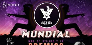 Electro Dance Camp 2018 official Flyer