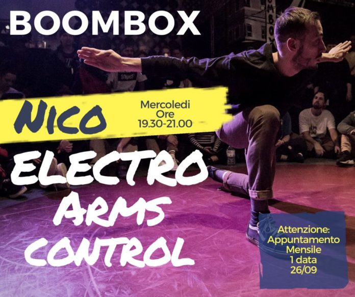 Nico Arms Control lessons at Boombox