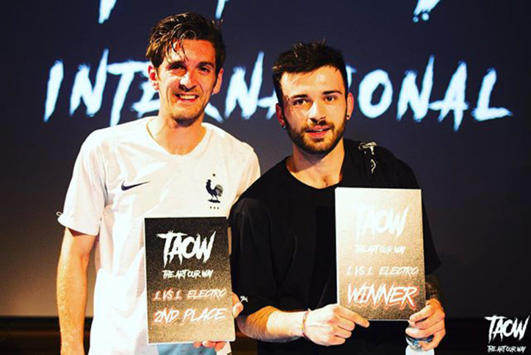 Vegeta and Simon after TAOW 2019 final in Aosta (Italy)