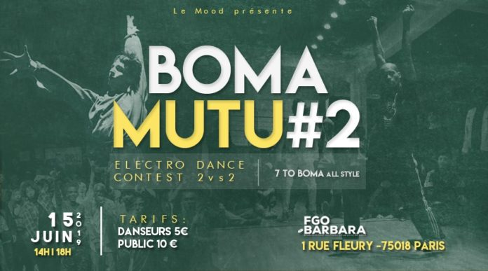 Boma Mutu #2 - Saturday 15 June - Paris