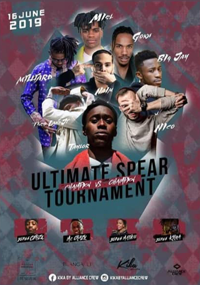 Ultimate Spear Tournament - Sunday 16th June - Paris