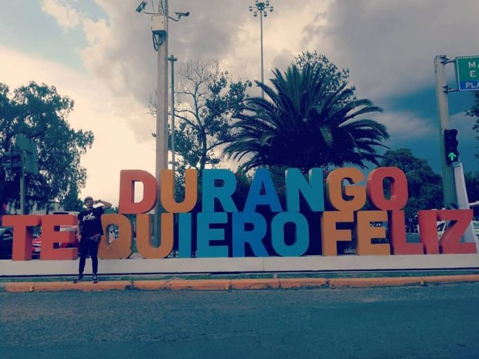 Clay from Costa Rica as he arrives in Durango (Mexico) for Electro Dance Camp 2018